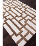 RugStudio presents Addison And Banks Hand Tufted Abr0278 Antique White / Cocoa Brown Hand-Tufted, Best Quality Area Rug