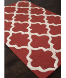 RugStudio presents Addison And Banks Hand Tufted Abr0945 Velvet Red Hand-Tufted, Good Quality Area Rug
