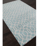 RugStudio presents Addison And Banks Hand Tufted Abr0953 Light Turquoise Hand-Tufted, Good Quality Area Rug