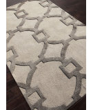 RugStudio presents Rugstudio Sample Sale 103439R Antique White Hand-Tufted, Good Quality Area Rug