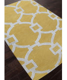 RugStudio presents Addison And Banks Hand Tufted Abr0959 Bright Yellow Hand-Tufted, Good Quality Area Rug