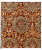 RugStudio presents Addison And Banks Triumph Cx-2258 Brick Red / Medium Brown Hand-Tufted, Good Quality Area Rug