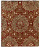 RugStudio presents Addison And Banks Triumph Cx-2258 Medium Brown / Brick Red Hand-Tufted, Good Quality Area Rug
