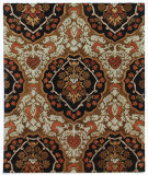 RugStudio presents Addison And Banks Triumph Cx-2258 Tobacco / Ebony Hand-Tufted, Good Quality Area Rug