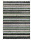 RugStudio presents Addison And Banks Pura Vida Tamarindo Ebony / Amazon Flat-Woven Area Rug