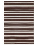RugStudio presents Addison And Banks Pura Vida Colina Cocoa Brown Flat-Woven Area Rug