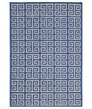 RugStudio presents Addison And Banks Urban Bungalow Melina Brilliant Blue Flat-Woven Area Rug