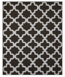 RugStudio presents Addison And Banks Maroc Aster Cocoa Brown Flat-Woven Area Rug