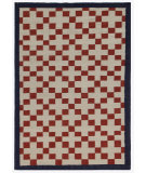 RugStudio presents Addison And Banks Triumph Dw-140 Antique White / Deep Navy Flat-Woven Area Rug