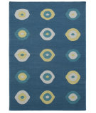 RugStudio presents Addison And Banks Triumph Dw-144 Ink Blue Flat-Woven Area Rug