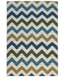 RugStudio presents Addison And Banks Triumph Dw-147 White / Capri Flat-Woven Area Rug