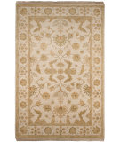 RugStudio presents Addison And Banks Opus Fenice Cloud White Hand-Knotted, Good Quality Area Rug