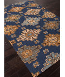 RugStudio presents Addison And Banks Hand Tufted Abr0981 Deep Navy Hand-Tufted, Best Quality Area Rug