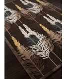 RugStudio presents Addison And Banks Machine Made Abr0312 Brown Machine Woven, Good Quality Area Rug
