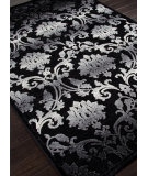 RugStudio presents Addison And Banks Machine Made Abr0315 Chenille Black Machine Woven, Good Quality Area Rug