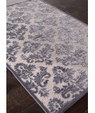 RugStudio presents Addison And Banks Machine Made Abr0983 Chenille Gray Machine Woven, Good Quality Area Rug