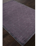 RugStudio presents Rugstudio Sample Sale 103465R Chenille Dark Violet Machine Woven, Good Quality Area Rug