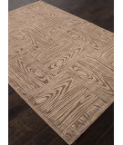 RugStudio presents Addison And Banks Machine Made Abr0986 Light Brown Machine Woven, Good Quality Area Rug