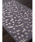 RugStudio presents Rugstudio Sample Sale 103477R Chenille Gray Machine Woven, Good Quality Area Rug