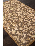RugStudio presents Addison And Banks Machine Made Abr1001 Chenille Light Brown Machine Woven, Good Quality Area Rug