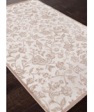 RugStudio presents Addison And Banks Machine Made Abr1014 Chenille White Machine Woven, Good Quality Area Rug