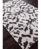 RugStudio presents Addison And Banks Hand Tufted Abr0330 White / Black Ink Hand-Tufted, Best Quality Area Rug