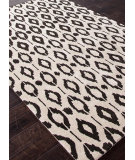 RugStudio presents Addison And Banks Hand Tufted Abr0337 Cloud White/Deep Charcoal Hand-Tufted, Best Quality Area Rug