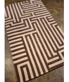 RugStudio presents Addison And Banks Hand Tufted Abr0357 Beige / Brown Hand-Tufted, Better Quality Area Rug