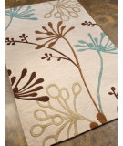 RugStudio presents Addison And Banks Hand Tufted Abr0361 Creamy White Hand-Tufted, Better Quality Area Rug