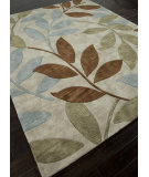 RugStudio presents Addison And Banks Hand Tufted Abr0363 Dark Ivory Hand-Tufted, Better Quality Area Rug