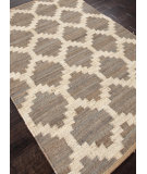 RugStudio presents Addison And Banks Flat Weave Abr0369 Medium Gray Flat-Woven Area Rug