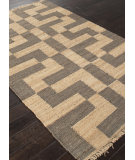 RugStudio presents Rugstudio Sample Sale 103502R Stone Gray Sisal/Seagrass/Jute Area Rug