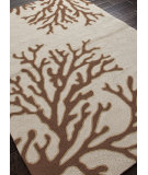 RugStudio presents Addison And Banks Hand Hooked Abr0374 Beige / Brown Hand-Hooked Area Rug