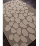 RugStudio presents Addison And Banks Hand Hooked Abr0377 Dark Gray / Light Gray Hand-Hooked Area Rug