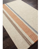 RugStudio presents Addison And Banks Hand Hooked Abr0382 Silver Gray Hand-Hooked Area Rug