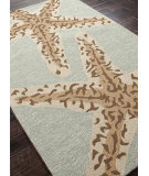 RugStudio presents Addison And Banks Hand Hooked Abr0383 Silver Lake Blue Hand-Hooked Area Rug