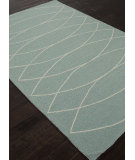 RugStudio presents Addison And Banks Indoor-Outdoor Abr1027 Light Denim Hand-Hooked Area Rug