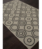 RugStudio presents Addison And Banks Indoor-Outdoor Abr1032 Light Smoke Gray Hand-Hooked Area Rug