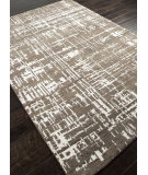 RugStudio presents Addison And Banks Hand Knotted Abr1036 Dark Gray Hand-Knotted, Good Quality Area Rug