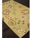 RugStudio presents Addison And Banks Hand Tufted Abr1045 Wild Lime Hand-Tufted, Good Quality Area Rug