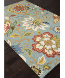 RugStudio presents Addison And Banks Hand Tufted Abr1048 Light Turquoise Hand-Tufted, Good Quality Area Rug