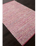 RugStudio presents Addison And Banks Flat Weave Abr1063 Fuchsia Flat-Woven Area Rug