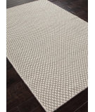 RugStudio presents Rugstudio Sample Sale 81837R Light Mushroom / White Flat-Woven Area Rug