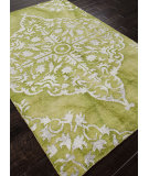 RugStudio presents Addison And Banks Hand Knotted Abr1084 Green Hand-Knotted, Good Quality Area Rug