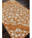 RugStudio presents Addison And Banks Hand Knotted Abr1087 Pumpkin Hand-Knotted, Good Quality Area Rug