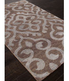 RugStudio presents Addison And Banks Hand Knotted Abr1089 Wood Brown Hand-Knotted, Good Quality Area Rug