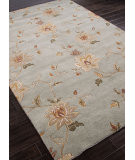 RugStudio presents Addison And Banks Hand Knotted Abr1113 Sea Blue Hand-Knotted, Good Quality Area Rug