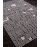 RugStudio presents Addison And Banks Hand Knotted Abr1117 Medium Gray Hand-Knotted, Good Quality Area Rug