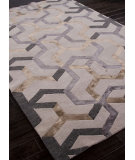 RugStudio presents Addison And Banks Hand Knotted Abr1121 Antique White Hand-Knotted, Good Quality Area Rug