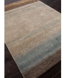 RugStudio presents Addison And Banks Hand Knotted Abr1123 Lead Gray Hand-Knotted, Good Quality Area Rug